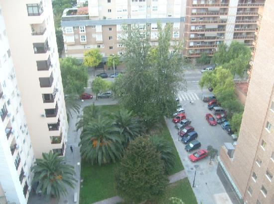 Plaza Picasso: View from the apartment