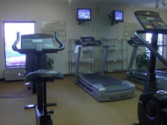 Hampton Inn St Louis/Chesterfield: Small Gym