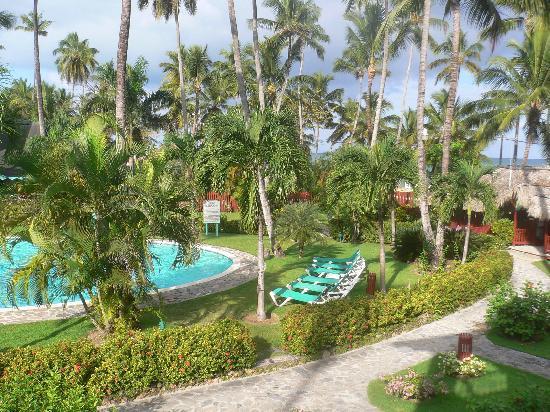 Hotel Residence Playa Colibri: AUTRE VUE DE LA TERRASSE