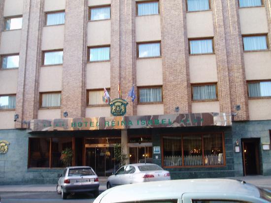 Hotel Reina Isabel : Fachada del Hotel