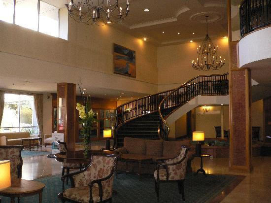 Rutherford Hotel Nelson: Hotel reception