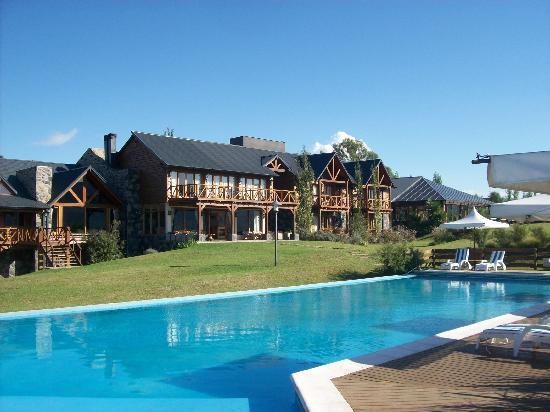 Chamonix: pileta exterior