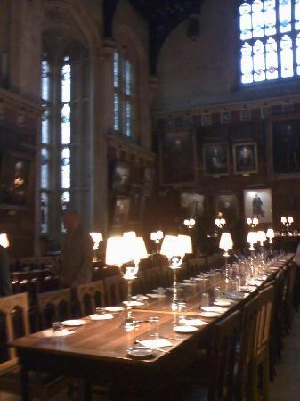 Comedor fotograf a de christ church oxford tripadvisor for Comedor harry potter
