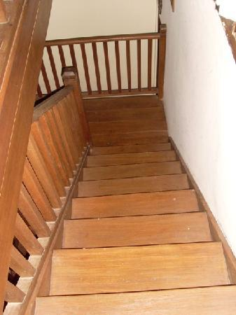 Alam Indah: for parents, the stairs in Gardenia suite