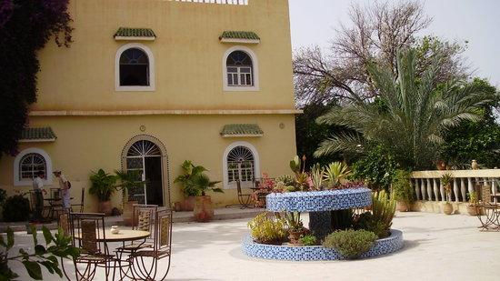 Tiout, Marocko: la terrasse