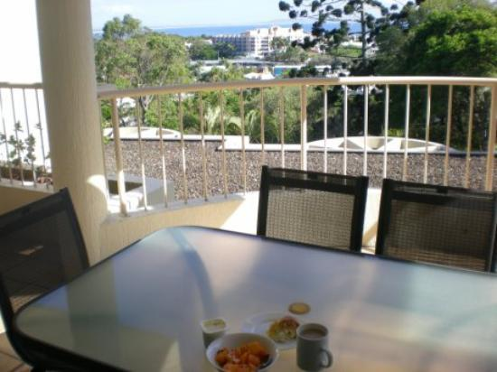 Noosa Crest: Nice view for breakfast time