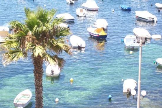 Bugibba, Malta the harbour