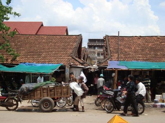 Market in Kampot, Cambodia