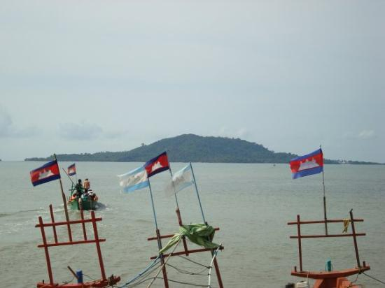 Кеп, Камбоджа: This is Koh Tonsay (Rabbit Island) near Kep, Cambodia