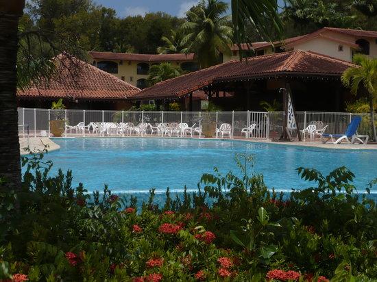 Residence de l'Anse Caritan: piscine correcte, c le seul truc !