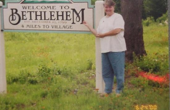 Betlehem, NH: No, no, it's Bethlehem, NH!