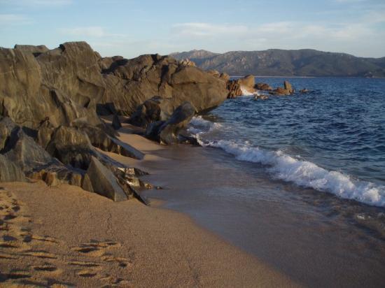 pláž Olmeto-Plage, blízko Propriano
