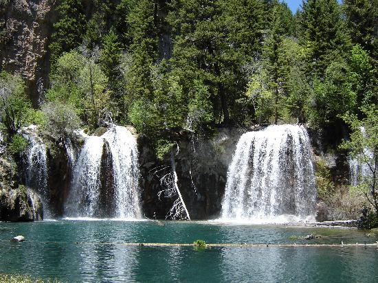 Glenwood Springs, CO: Water Falls at Hanging Lake