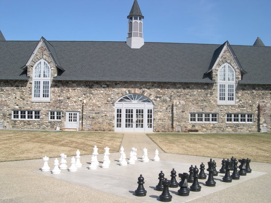 Charlevoix, Мичиган: chess board