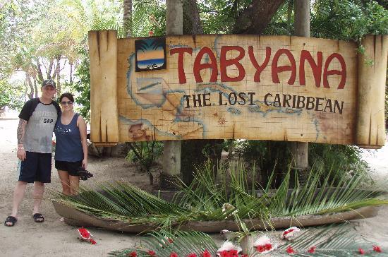 Tabyana Beach Sign