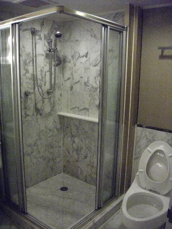 Standing shower picture of grand hyatt taipei taipei for Standing shower bathroom ideas