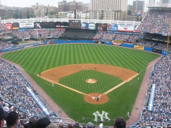 Yankee Stadium: The view from our seats