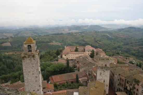San Gimignano and countryside