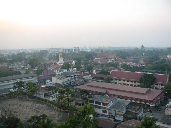 Πιτσανουλόκ, Ταϊλάνδη: Vista dalla camera