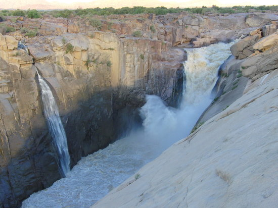Augrabies Falls National Park, Sydafrika: the falls