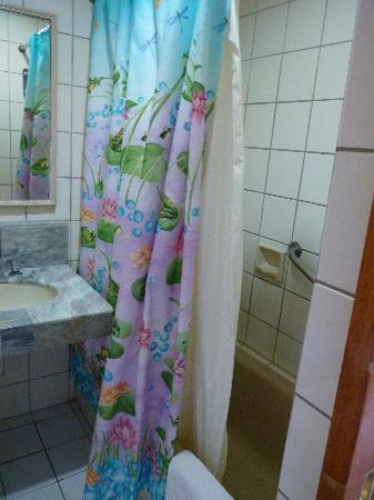 Holiday Plaza Hotel: bathroom