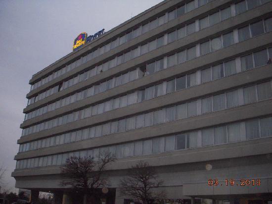 Best Western Leoso Hotel Ludwigshafen : ホテルの外見