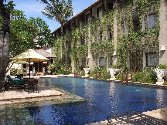 The Grand Bali Nusa Dua: Looking towards the spa