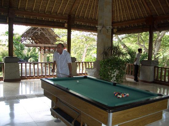 The Grand Bali Nusa Dua: Pool table