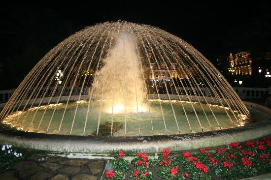 Mónaco: Casino Fountain