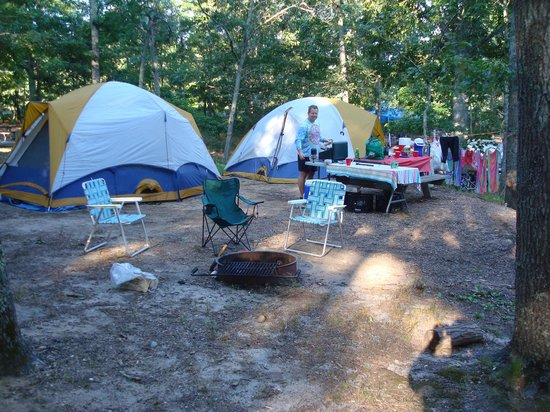 Atlantic Oaks Campground: great camp site-roomy