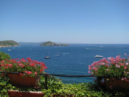 Porto Ercole, Ιταλία: vista dal poggiolo della stanza 1