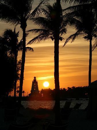ترانكيليتي باي بيتش فونت هوتل آند ريزورت: sunset from the beach
