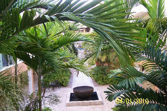 View from our room area
