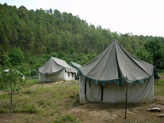 Chamba, Indien: Tents