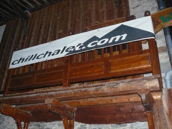 Chillchalet: Look for this sign!