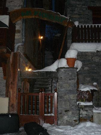 This is the entrance to Chillchalet