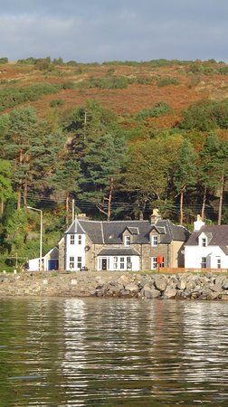 view of Ceol na mara from Loch Alsh