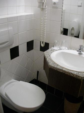 DaVinci Hotel Wenceslas Square: Really small bathroom