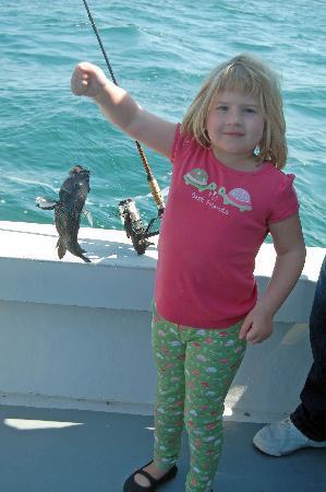 Sport Fishing Gullah Gal: 5yo fishing fun