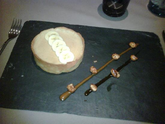 L'Atable 77: Banana & peanut tart