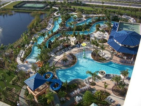 Pool Amp Lazy River Picture Of Hilton Orlando Orlando