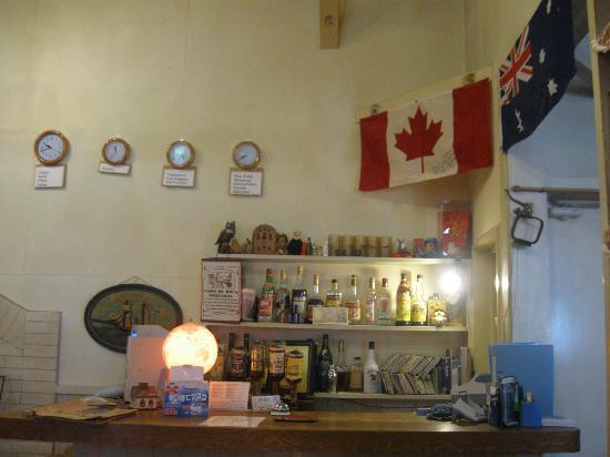 Hayaokidori: Reception cum bar