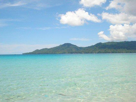 Ambon, Indonésia: pantai natsepa