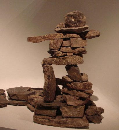 Manitoba Museum: Inukshuk