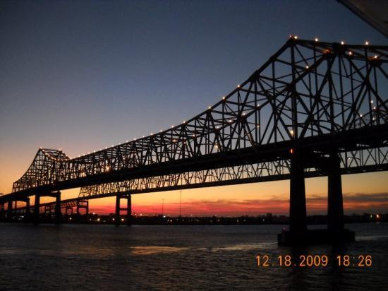 Slidell, LA: GREATER NEW ORLEANS BRIDGE TAKE FROM THE CARNIVAL SHIP