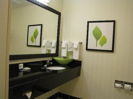 Fairfield Inn & Suites Twentynine Palms-Joshua Tree National Park: Das Bad