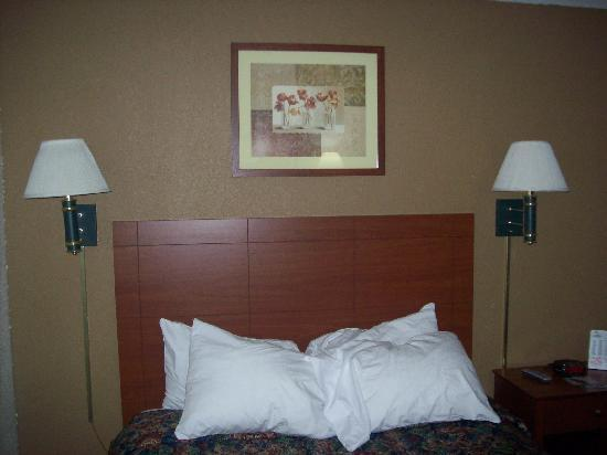 Days Inn Ankeny - Des Moines: Picture and lamps