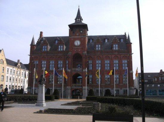 Knokke-Heist, België Stadhuis