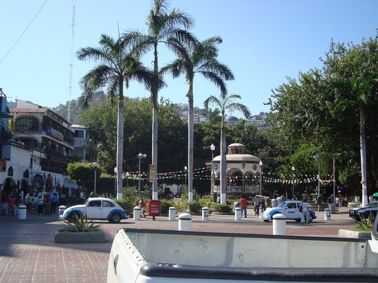 the plaza of Zocalo