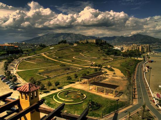 Fuengirola, Spain: Vista Panorámica del Parque Sohail